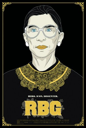 RBG a documentary about Ruth Bader Ginsburg