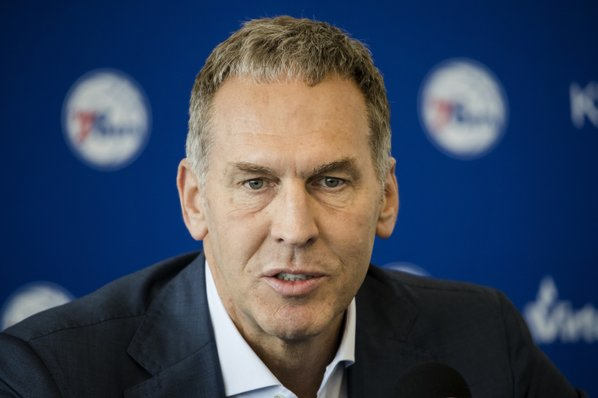 Bryan Colangelo resigns as president of the Philadelphia 76ers