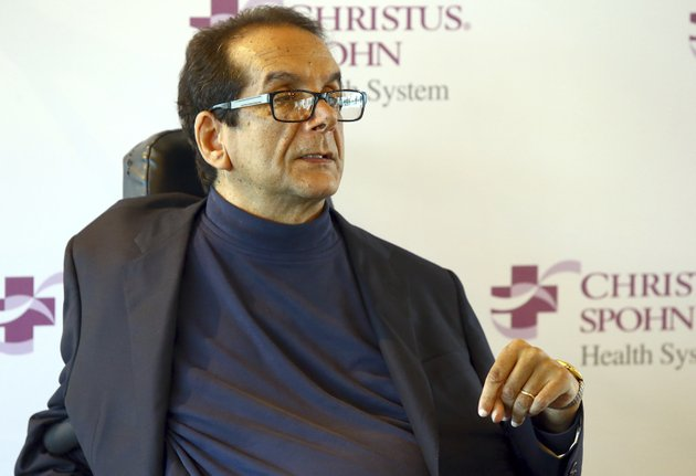 file-in-this-march-31-2015-file-photo-charles-krauthammer-talks-about-getting-into-politics-during-a-news-conference-in-corpus-christi-texas-the-fox-news-contributor-and-syndicated-columnist-says-he-has-only-a-few-weeks-to-live-because-of-an-aggressive-form-of-cancer-krauthammer-disclosed-his-doctors-prognosis-in-a-letter-released-friday-june-8-2018-to-colleagues-friends-and-viewers-krauthammer-wrote-that-he-underwent-surgery-in-august-to-remove-a-cancerous-tumor-in-his-abdomen-gabe-hernandezcorpus-christi-caller-times-via-ap