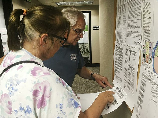 dave-and-jane-will-inspect-a-sample-ballot-last-week-in-bismarck-nd