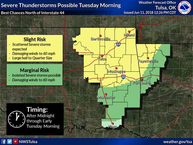 forecasters-say-northwest-arkansas-faces-a-slight-risk-for-severe-weather-on-tuesday-june-12-2018