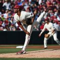Arkansas starter Isaiah Campbell allowed 4 hits and 2 runs while striking out 5 and walking 2 in 4 i...