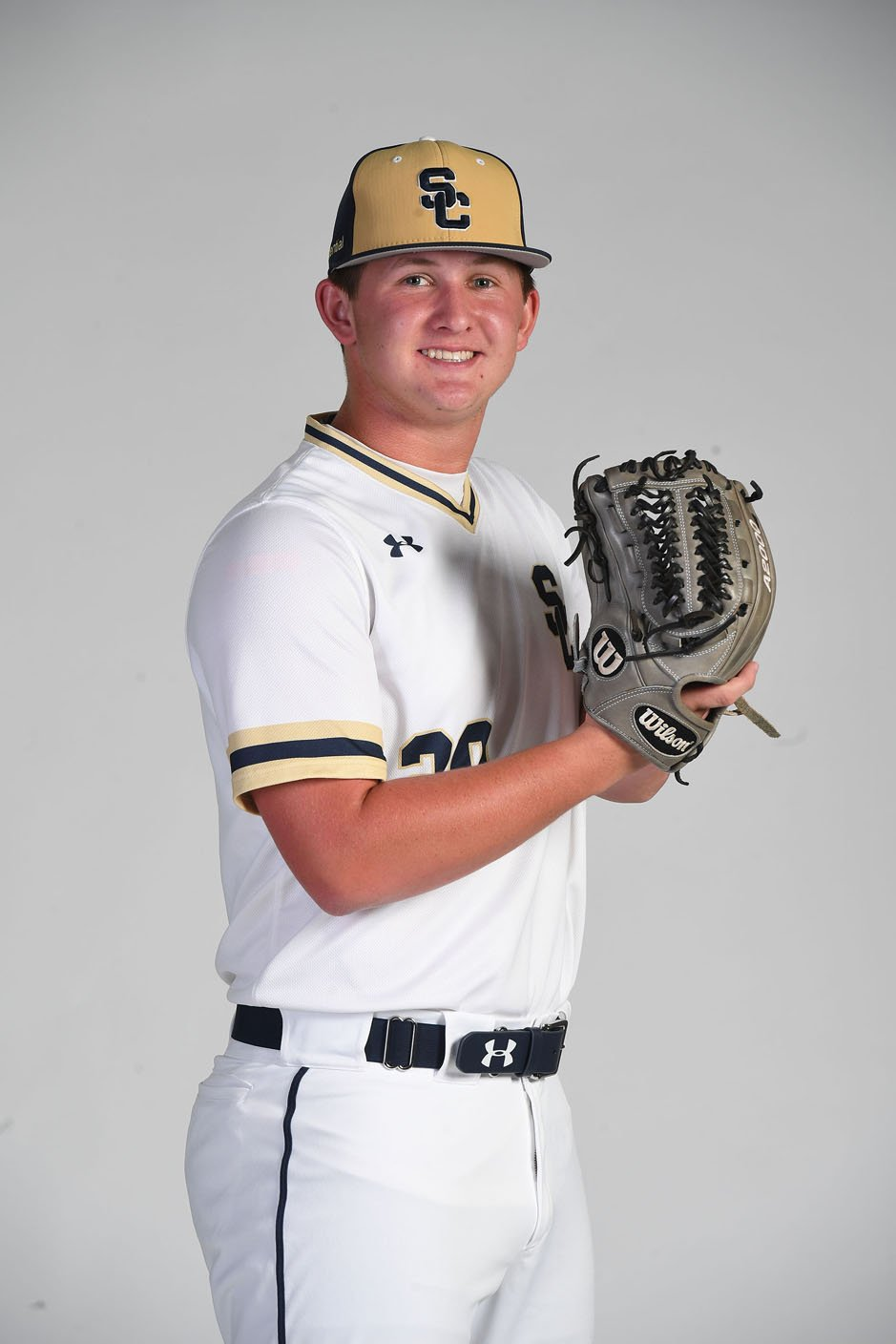 NWA Democrat-Gazette/J.T. WAMPLER Walker Williams of Shiloh Christian is the All-Northwest Arkansas Democrat-Gazette Division II Baseball Newcomer of the Year.