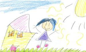 Violet, Age 7