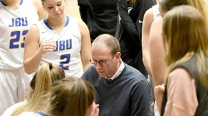 Photo courtesy of JBU Sports Information John Brown women's basketball head coach Jeff Soderquist announced last week the signing of five players for the 2018-19 season.