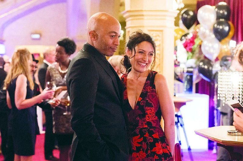 Lisa Edelstein and James Lesure star as Abby McCarthy and Coach Mike Brady  in Bravo's Girlfriends' Guide to Divorce. The final season begins today.
