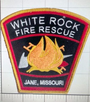 Courtesy Photo The White Rock Fire Department soon will be getting new patches, the first-ever for the department.