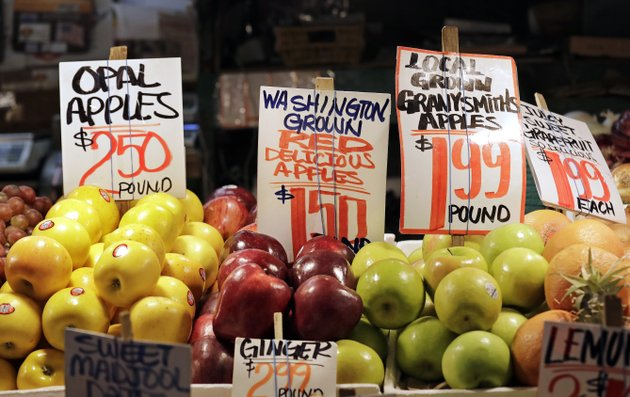 file-in-this-april-4-2018-file-photo-apples-grown-in-washington-state-are-displayed-for-sale-at-the-pike-place-market-in-seattle-us-wholesale-prices-last-month-posted-the-biggest-12-month-gain-since-january-2012-a-sign-that-the-strong-economy-is-beginning-to-rouse-inflationap-photoelaine-thompson-file