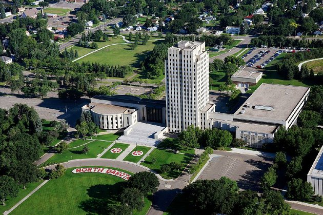 bismarcks-statehouse-complex-is-more-than-government-office-buildings-its-also-home-to-the-north-dakota-heritage-center-and-state-museum-and-a-park-commemorating-veterans-north-dakota-tourism-the-united-tribes-technical-college-international-powwow-takes-place-sept-7-9-this-year