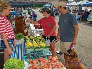 Cabot Farmers' Market, June 9