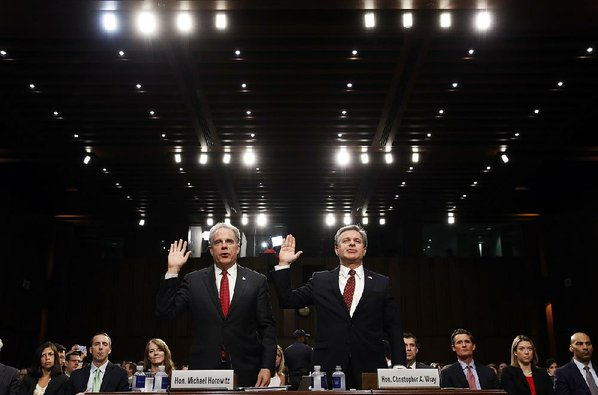 Director: FBI won't repeat mistakes noted in watchdog report