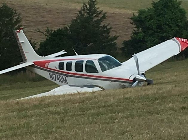 the-federal-aviation-administration-is-investigating-after-a-single-engine-plane-crash-landed-in-north-arkansas-on-sunday-june-18-2018-according-to-the-baxter-county-sheriffs-office-one-person-was-injured