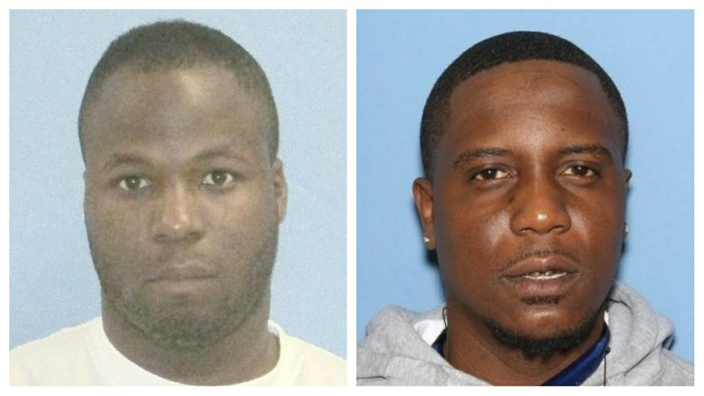 Brandon Rogers, 29, of North Little Rock (left) and Michael Scales, 30, of Little Rock