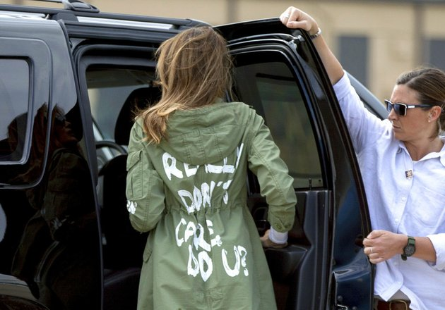 first-lady-melania-trump-arrives-at-andrews-air-force-base-md-on-thursday-june-21-2018-after-visiting-the-upbring-new-hope-children-center-run-by-the-lutheran-social-services-of-the-south-in-mcallen-texas