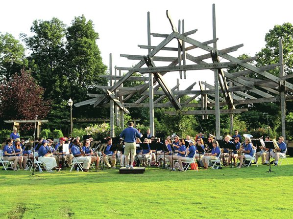 courtesy photo the arkansas winds community concert band always kicks off the free summer concert series at the botanical garden of the ozarks with a - Botanical Garden Of The Ozarks