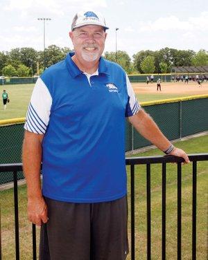 Greenbrier softball coach Brian Butler, the 2018 RVO Coach of the Year.