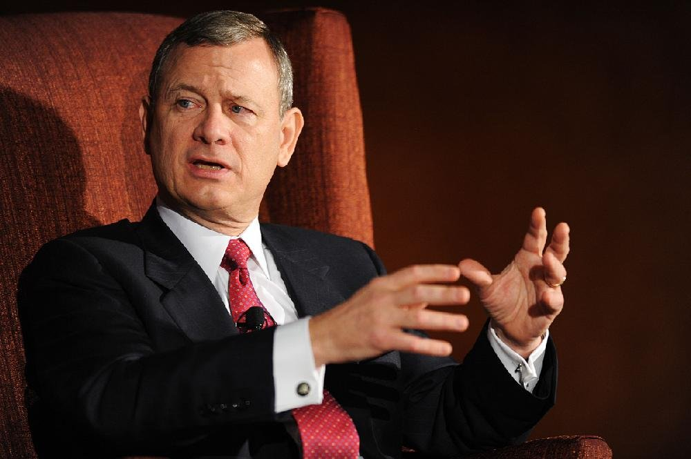 John Roberts, chief justice of the U.S. Supreme Court,is shown in this May 4, 2016 file photo.