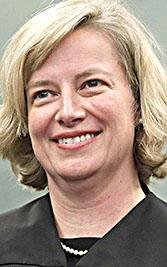 U.S. District Judge Kristine Baker is shown in this file photo.