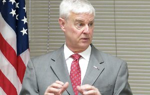 U.S. Congressman Steve Womack is shown in this Feb. 21, 2018 file photo.