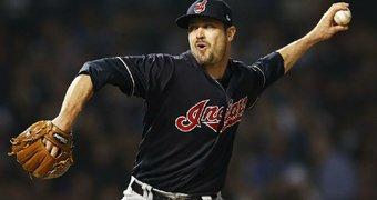 Cleveland Indians left-hander ...
