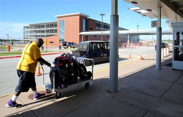 the-new-parking-deck-is-visible-friday-at-the-northwest-arkansas-regional-airport-in-highfill-the-20-year-old-terminal-building-at-the-airport-will-be-getting-a-makeover-in-the-next-couple-of-years