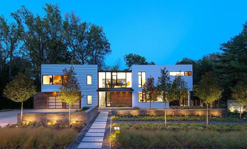 Washington D.C. architect Robert M. Gurney\u0027s BM Modular One house in Bethesda Md. is made of 13 modules that were built in a Virginia factory. & Hip housing: Prefabricated homes \u2014 now considered cool \u2014 are as easy ...