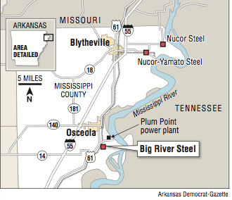 Arkansas steel mill plans $1 2B expansion, 500 new workers