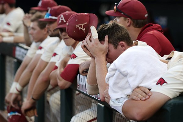 Hogs heartbreak: Fans red-hot for College World Series title go home