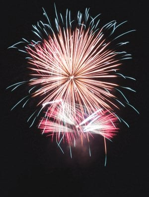 The 2018 Fireworks Extravaganza in Heber Springs will take place Tuesday at Sandy Beach on Greers Ferry Lake. The fireworks are scheduled to begin at 9:30 p.m. Admission is free, but there is a $10 parking fee.