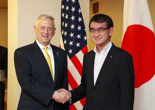 Mattis in Tokyo: 'Longstanding Alliance Between Japan and U.S. Stands Firm'