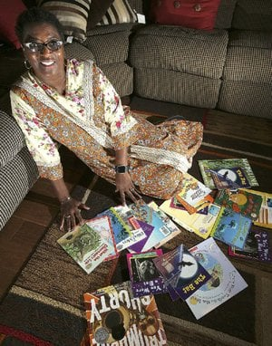 Little Rock native Barbara Lunon honors the volunteers who influenced her in her youth by volunteering as a reading tutor through the nonprofit literacy group AR Kids Read.