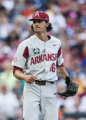 Former Arkansas pitcher Blaine Knight, who was 14-0 with the Razorbacks this season, agreed to a deal with the Baltimore Orioles on Friday with a reported signing bonus of $1.1 million.