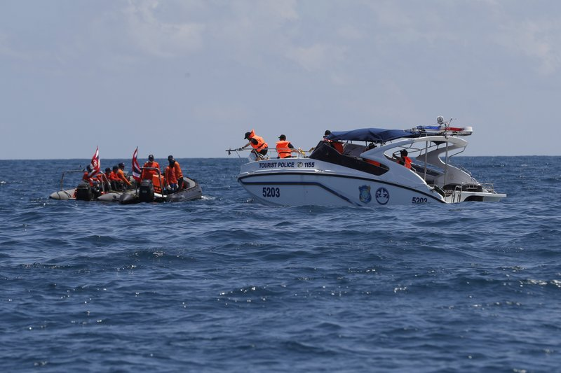 Death toll climbs to 41 after Thai boat capsizes, sinks
