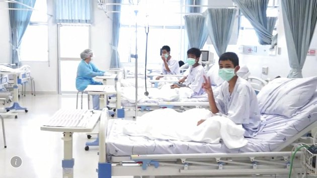 in-this-image-made-from-video-released-by-the-thailand-government-spokesman-bureau-three-of-the-12-boys-are-seen-recovering-in-their-hospital-beds-after-being-rescued-along-with-their-coach-from-a-flooded-cave-in-mae-sai-chiang-rai-province-northern-thailand-thailand-government-spokesman-bureau-via-ap