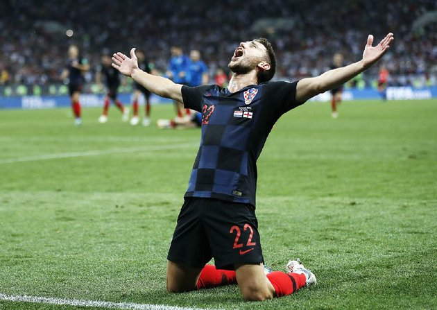 croatias-josip-pivaric-celebrates-after-wednesdays-2-1-extra-time-victory-over-england-on-wednesday-in-the-world-cup-semifinals-at-moscow-croatia-will-face-france-in-the-championship-game-sunday