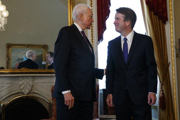 supreme-court-nominee-brett-kavanaugh-right-meets-with-sen-orrin-hatch-r-utah-on-capitol-hill-wednesday-july-11-2018-in-washington-ap-photoevan-vucci