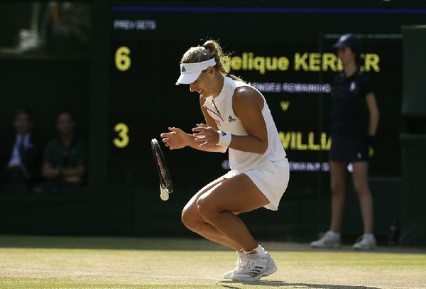 signing a letter steady kerber defeats williams 24855