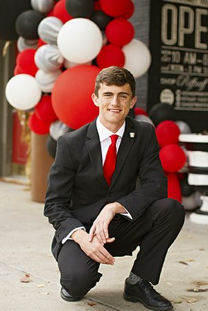 Farmington's Coleman Warren was inspired by a trip to Boys State last summer. He then changed his college major from electrical engineering to a double major of industrial engineering and political science at Arkansas.