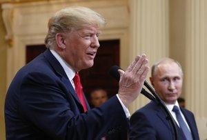 Lawmakers call Trump's performance 'bizarre,' 'shameful'; U.S. Sen. John Boozman tweets that Russia 'is not our friend'