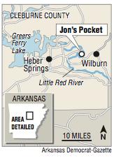 Little Red River Arkansas Map.Arkansas Kayaker Finds Prosthetic Leg Locates Owner