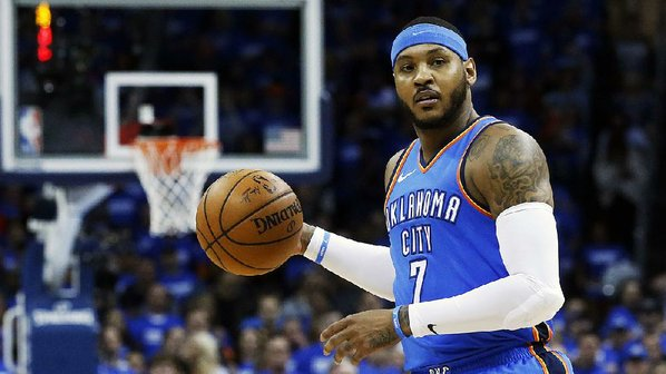 Trade finally gets Carmelo out of Oklahoma City