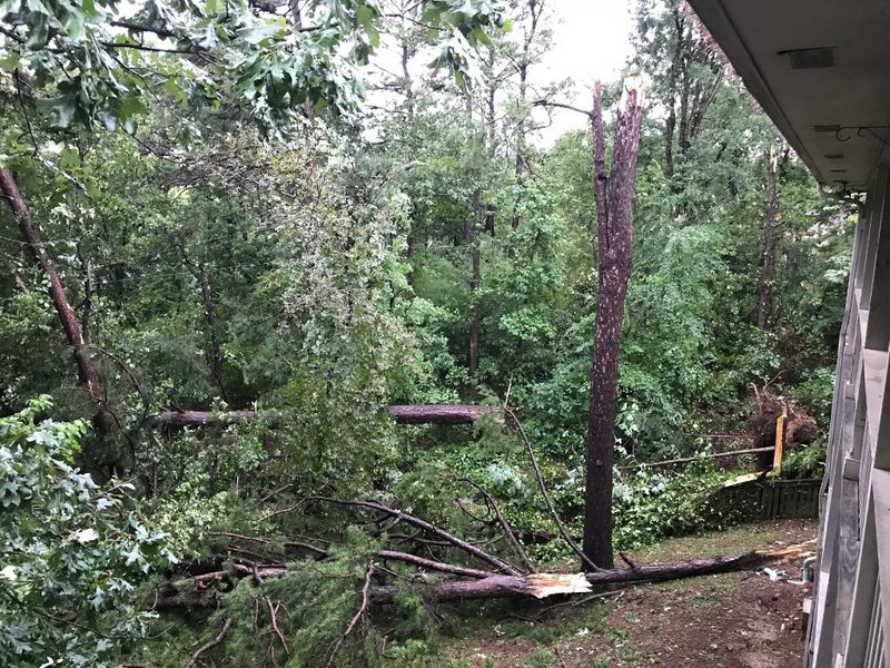Thousands of customers without power after Arkansas storms