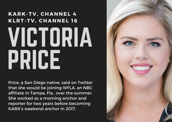 Little Rock TV reporter leaving after two years working for NBC, Fox