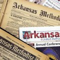 Editions of Arkansas United Methodist are shown from 1899, 1931 and 2017. After a 138-year history a...