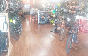 Keith Bryant/The Weekly Vista GPP, Bella Vista's only bike shop, closed its doors Tuesday, July 24.