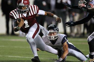 Pine Bluff quarterback ...