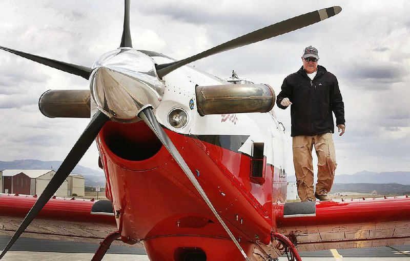 3 Arkansas fliers in West's firefighting ranks