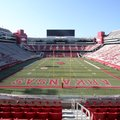 University of Arkansas officials lead a media tour Monday, August 27, 2018, of the $160 million Dona...