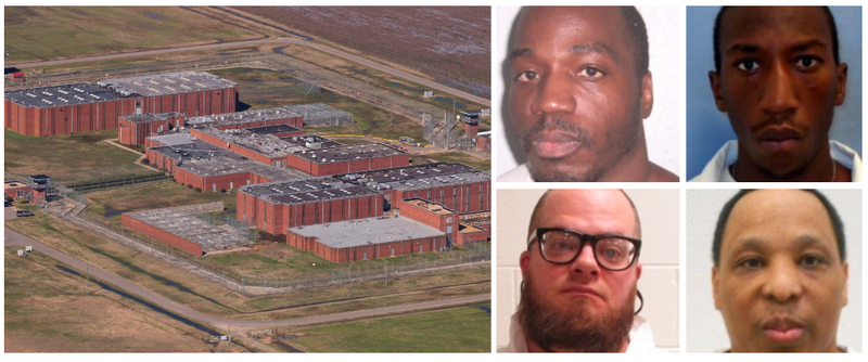 5 deaths in 4 days reported at Arkansas prison