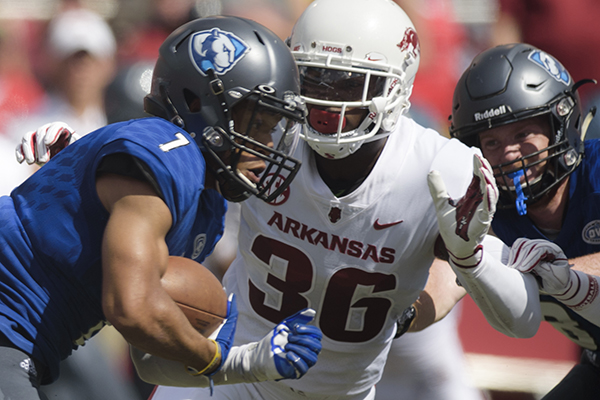 Citing family responsibilities, McClure leaves Arkansas football team